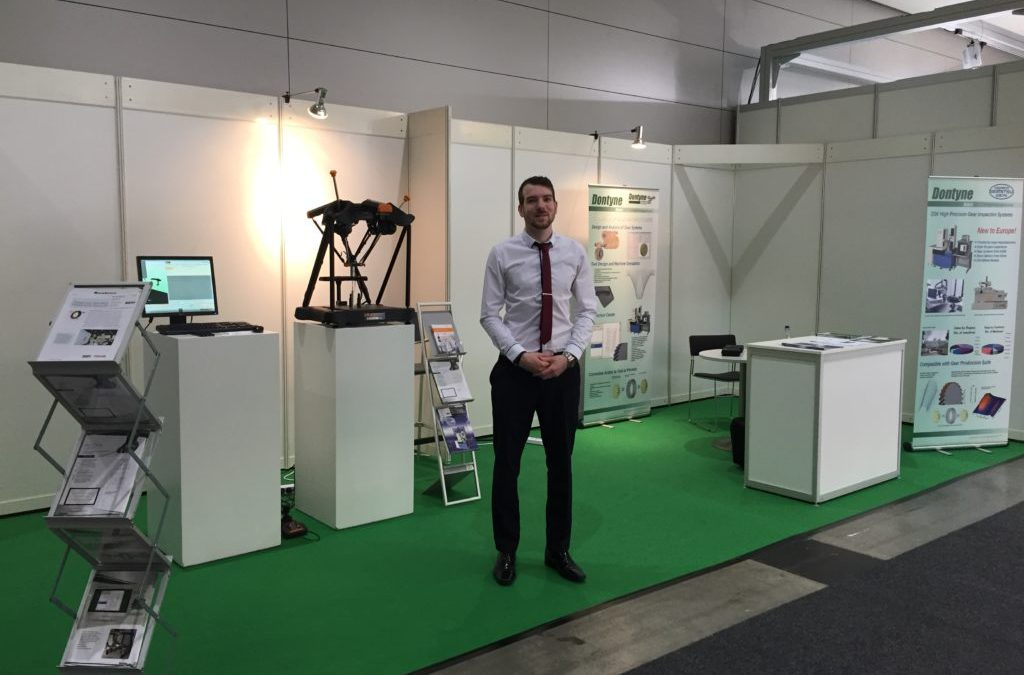 Dontyne Gears Represents Dontyne Systems And Other Products At Control 2016, Stuttgart