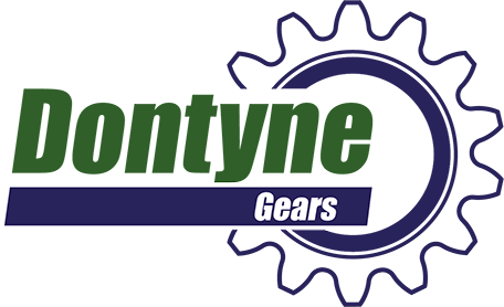 Transparent background logo image for Dontyne Gears