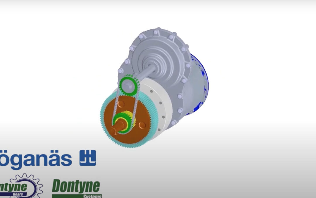 Dontyne collaborates on development of low carbon Electric Vehicle transmissions